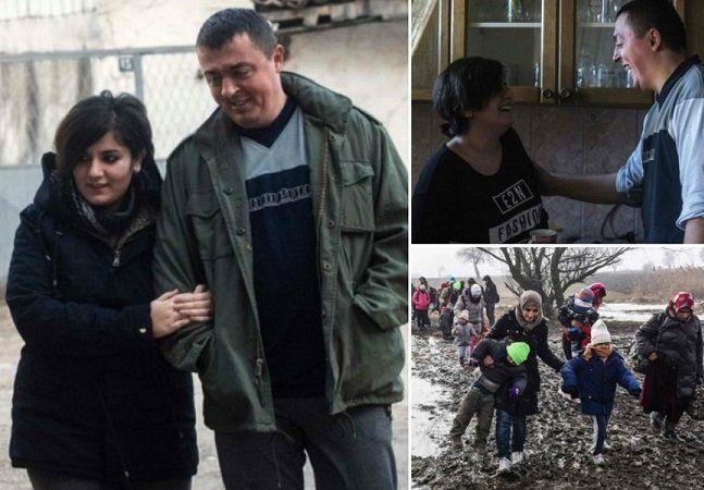 Nem todas as histórias de refugiados são tristes. Apesar de precisarem deixar seus países, muitos encontram uma vida completamente nova e muito feliz em um novo lugar. E a sorte não poderia ter sido maior para a iraquianaNoora Arkavazi. Em março do ano passado, ela e sua família haviam deixado sua casa emDiyala, no Iraque, para fugir dos conflitos entre o Estado Islâmico e a coalizão militar. Quando cruzavam a fronteira da Macedônia, apenas um policial presente no local falava inglês:Bobi…