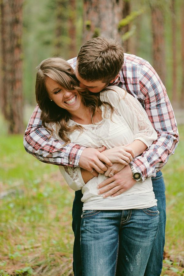 Wed4Less Northwest: {Real Engagement} Spring in Montana
