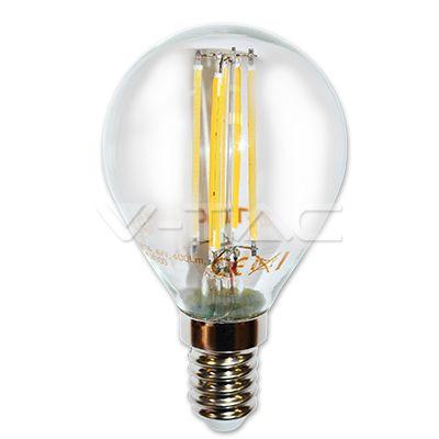 2,52€ Filamento LED 4W COG E14 P45 Bianco naturale  SKU: 4425 | VT: VT-1996    Filamento LED 4W E14 P45 Bianco freddo  SKU: 4426 | VT: VT-1996