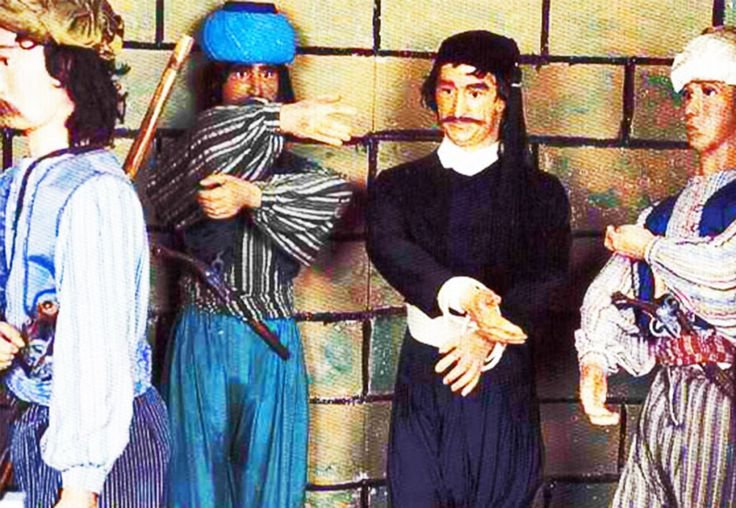 The wax statue museum at Zoniana village - a different stop! Read more at: http://goo.gl/31D5rC #zoniana #crete #GalaxyVillasResort #museum #waxmuseum #waxstatuemuseum #waxstatue