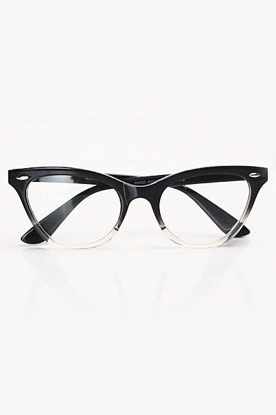 Emma Gradient Frame Cateye Glasses : 25+ best ideas about Cat Eye Glasses on Pinterest ...