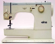 History Elna Sewing Machines... To read later.