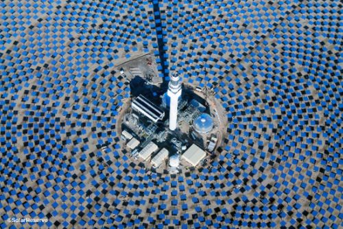 Concentrating solar power with thermal energy storage