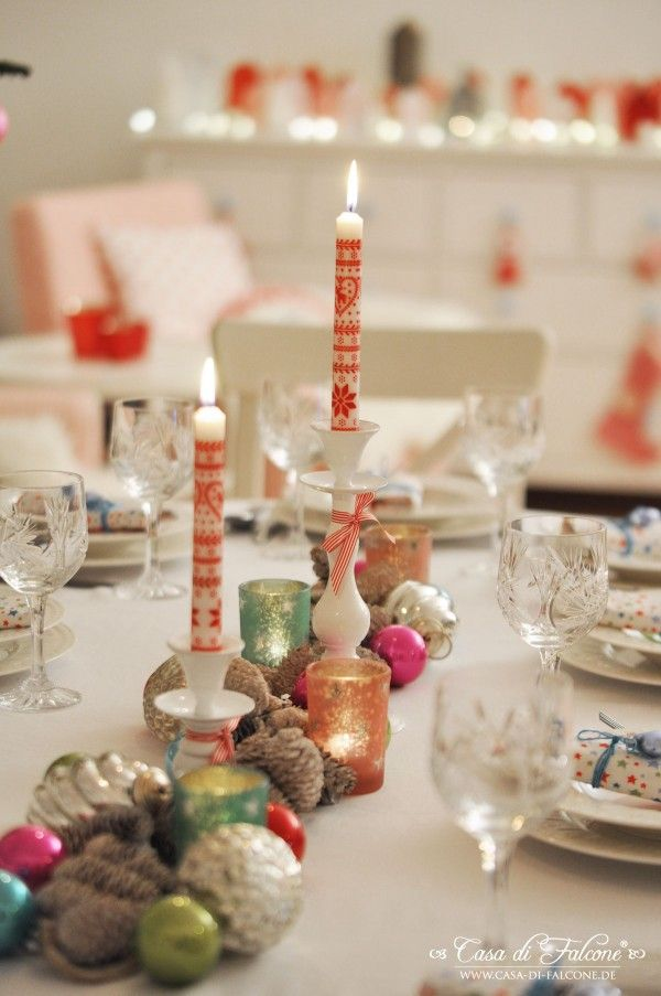 Christmas Dinner Party Ideas Part - 25: Weihnachtstisch I Christmas Table I Weihnachtsdeko I Casa Di Falcone