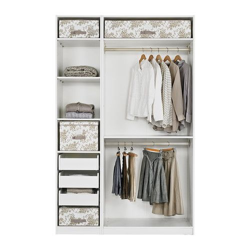 PAX Wardrobe with interior organizers