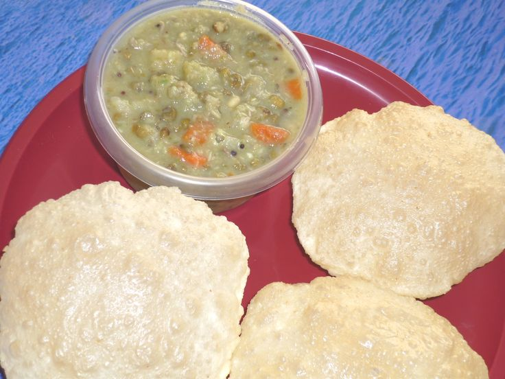 Everyone in our family just loves Poori Saagu. The reason I like to make saagu either with poori or chapathi is the amount of vegetables you can use and disguise many of them and feed it to your kids. Yes, if you have picky eaters, saagu is the best way to help them eat most vegetables.
