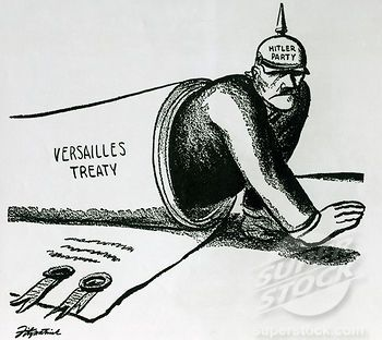 an analysis of the treaty of versailles The treaty of versailles was established on june 28, 1919 by the big three which were david lloyd george, georges clemenceau, and woodrow wilson.