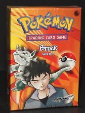 Brock Theme deck. Classic Pokemon card game CCG deck of old
