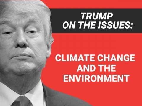 Donald Trump's positions on climate change (Compilation)
