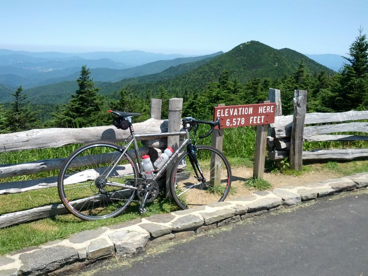 Highest point east of the Mississippi - Mount Mitchell, NC.
