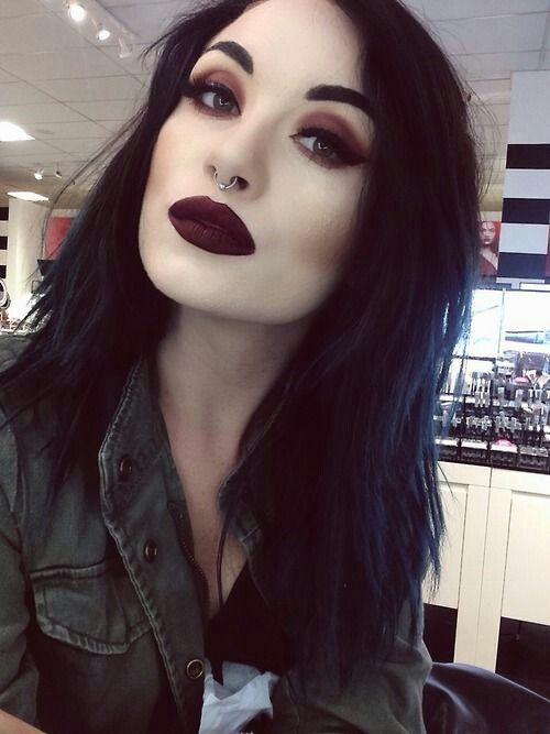 Daytime #Goth makeup