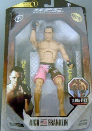 UFC Series 1 6 inch Rich Franklin – UFC Action Figure by Jakks (English Manual): Cet article UFC Series 1 6 inch Rich Franklin – UFC Action…