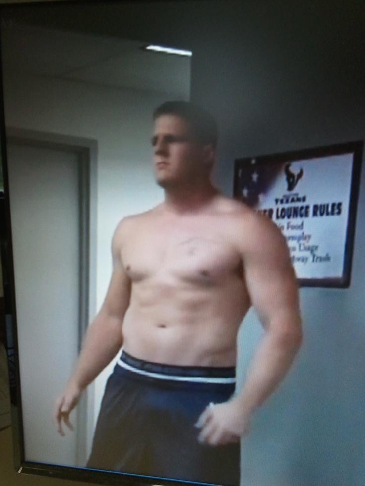 Brian Cushing Shirtless