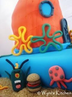 Spongebob Cake: Spongebob Cake, Cake Inspiration, Cake Ideas