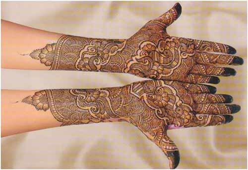 Pakistani Mehandi Design 7