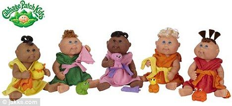 A children's craze from yesteryear is staging a comeback as the Cabbage Patch Kids return to High Street store shelves.