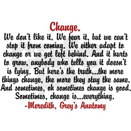 Change Quote Greys 11 Oz Ceramic Mug Quotes Quotes Change