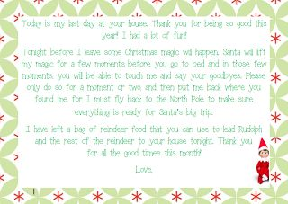 The Party Patch Blog: Everything You Need for Your First Time Doing Elf on the Shelf- click here for goodbye letters.