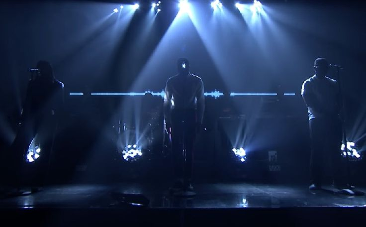 "Vince Staples hit the The Tonight Show with Jimmy Fallon last night to perform ""Love Can Be…"" from the new album Big Fish Theory. He brought along Kilo Kish, Ray J, Damon Albarn of Gorilla"