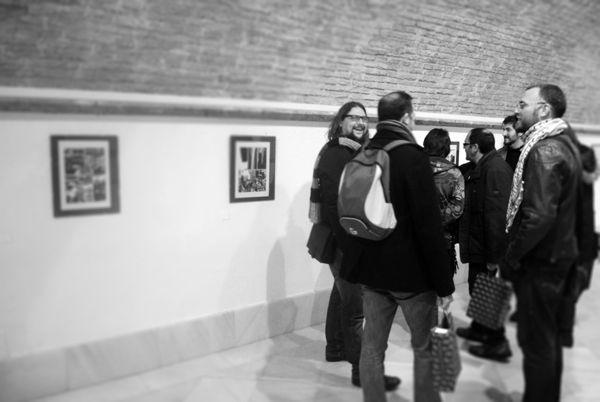 """V edición de Autores en Viñetas. Mesa """"Encuentro comiquero en Sevilla"""", — en Carmona."""