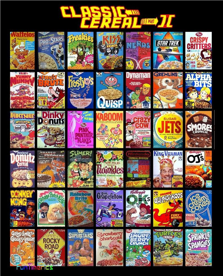 Old-school Cereal