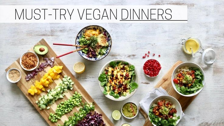 EASY VEGAN DINNER RECIPES » nourish bowls