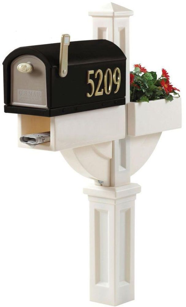 Step2 MailMaster Hudson Mailbox with Planter Lawn, Garden, Outdoor Design NEW #Step2 #MailBox #Mail #Box #Outdoor