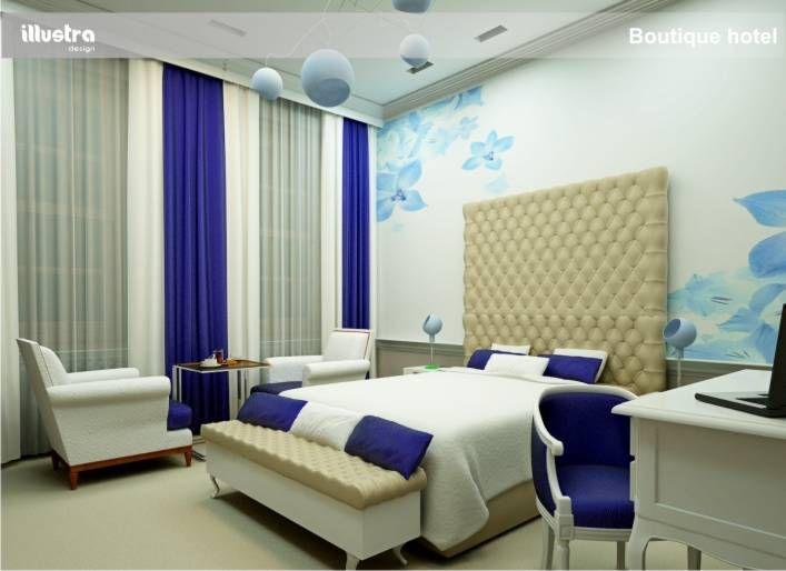 rander boutique hotel room 3d design
