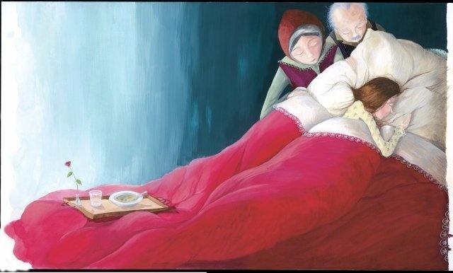 Έφη Λαδά - Συγγραφέας, Εικονογράφος - 2006 « Η Ταρώ και ο ζαχαροζυμωμένος »Εκδόσεις Πατάκη