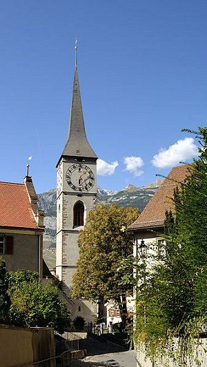 One of Switzerland's oldest cities is Chur and archaeologists have dated back a settlement from the Pfyn culture to 3,900 BC! Need I say more?