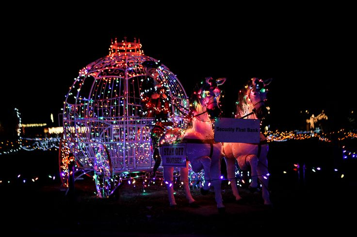 Storybook Island at Christmas is a wonderful way for you and your family to enjoy the holidays!