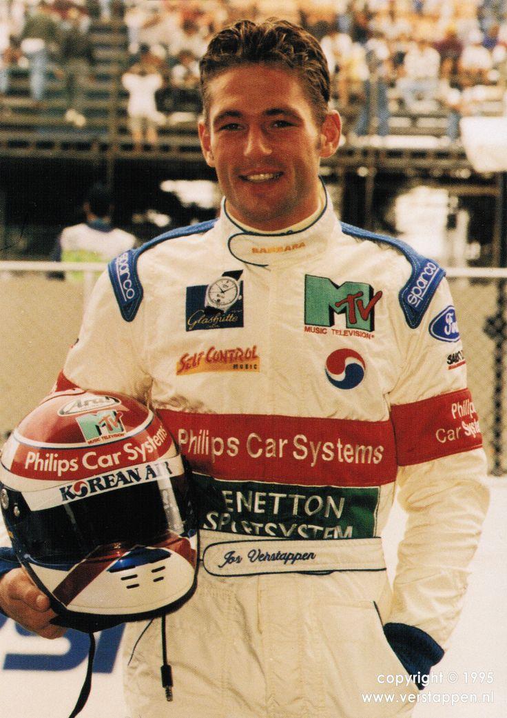 Jos Verstappen - Simtek S941 (Cosworth) - 1995 -