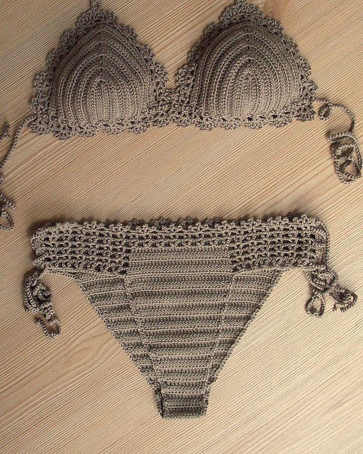 Brasil Tricô & Crochê - Handmade: Biquini em croch~e
