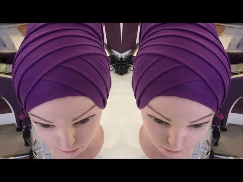 Special Day Different Shawl Binding Models - YouTube