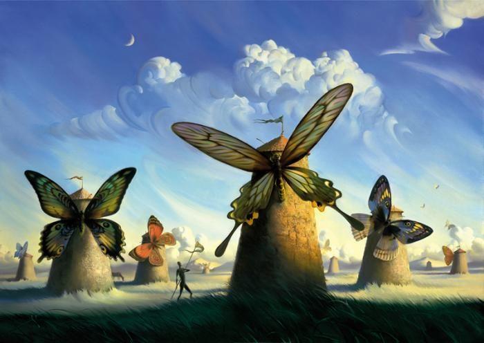 Les sublimes peintures surréalistes de Vladimir Kush