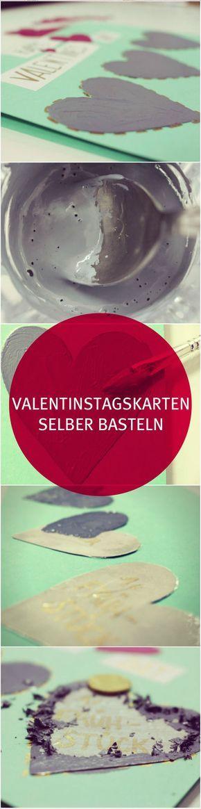 Valentinstagskarten selber basteln - So eine Valentinstag Karte hat Dein Lieblingsmensch bestimmt noch nie bekommen. Wie bei einem Rubbellos können die grauen Stellen aufgerubbelt werden und eine Überraschung kommt zum Vorschein. Die genaue Anleitung findest Du in unserem mydays Magazin. VALENTINSTAG | geschenke
