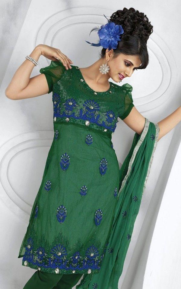 Latest Salwar Kameez Designs 2014 For Women... #Dresses #EidDresses #DressesCollection #PakistaniDresses #Fashion #DressDesigns