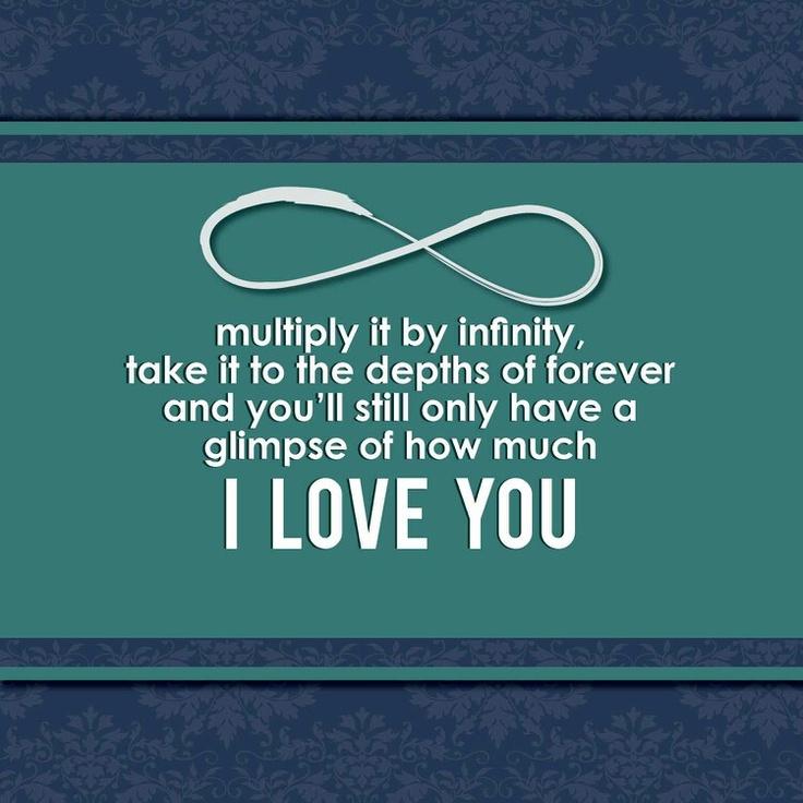 To my boyfriend. I love you