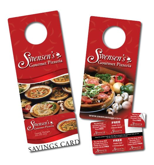 25 best ideas about Door Hanger Printing – Restaurant Door Hanger Template