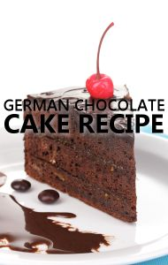 Dr Oz revealed that his favorite guilty pleasure is German Chocolate Cake and he shared his daughter's recipe for you to try.