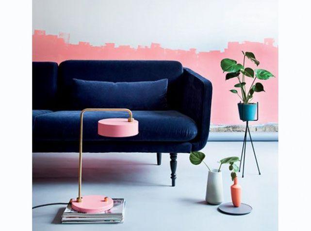 Les 25 meilleures idées de la catégorie Canapé en velours bleu sur ...