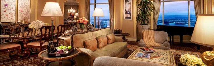 Penthouse Suite at The Venetian Palazzo in Las Vegas, Nevada, USA.