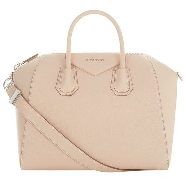 Givenchy Medium Grained Antigona Tote ($2,080) ❤ liked on Polyvore featuring bags, handbags, tote bags, handbags totes, structured handbag, beige purse, givenchy tote and man bag