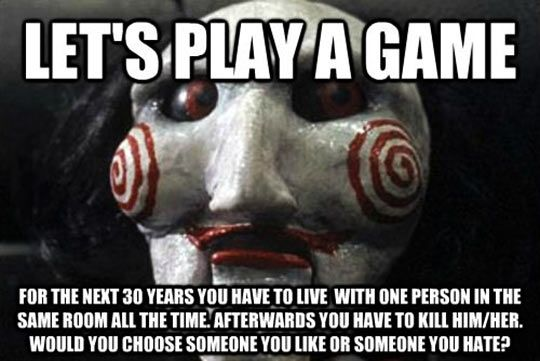 Saw I Want To Play A Game Quotes: Let's Play A Little Game…