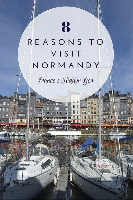 8 Reasons to Visit Normandy, France's Hidden Gem. Going to Normandy totally bumped France up on my 'favorite European countries list.' From pastries in Rouen to ferris wheels in Honfleur, here are 8 reasons why Normandy might be the best part of France!