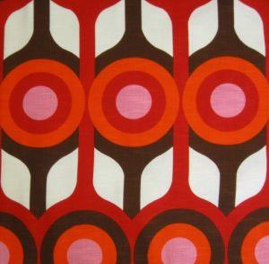 1970s geometric print