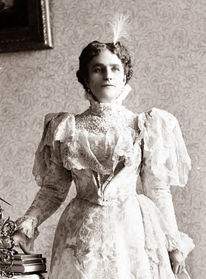 First Lady Ida McKinley, wife of William McKinley