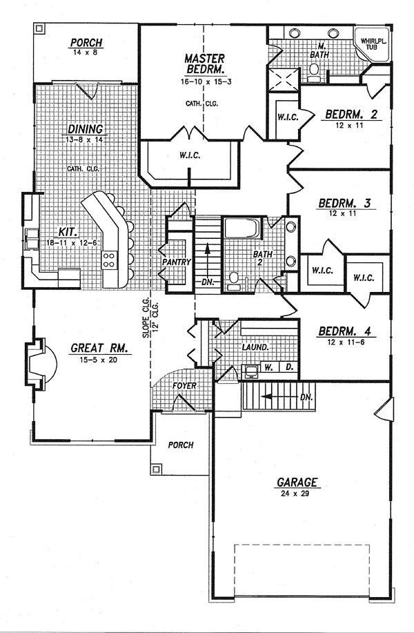 House Plan chp-48789 at COOLhouseplans.com, 2370 Sq. Ft.