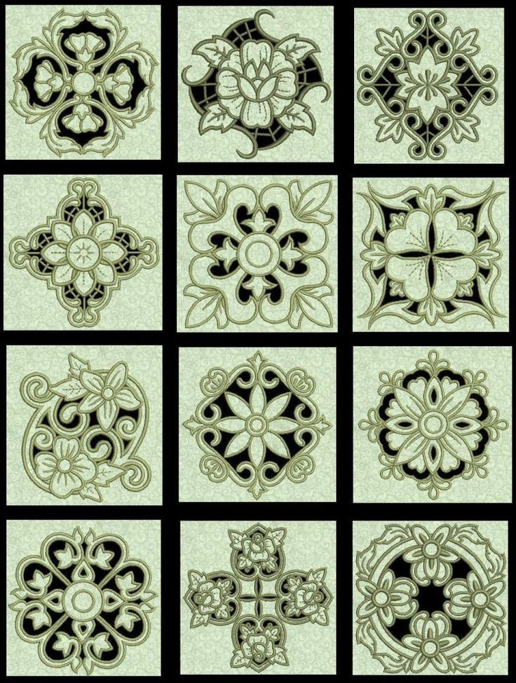 cutwork embroidery design - Google Search