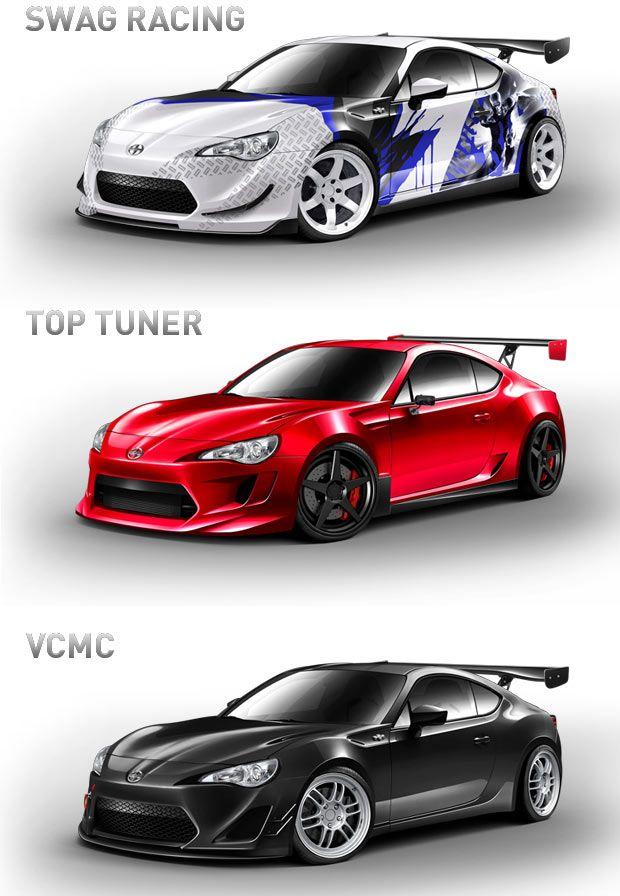 Tuner Cars #ForTheDriven #Scion #Rvinyl =========================== http://www.rvinyl.com/Scion-Accessories.html